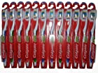 Colgate Extra Clean Toothbrush Full Head Firm #40, Brushes Hard (Pack of 12)