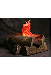 Indoor Campfire an Artificial Flame Fake Fire great prop for Halloween