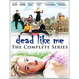 Dead Like Me: The Complete Series PLUS Bonus Movies White Lightning & The End - 11 DVD Set