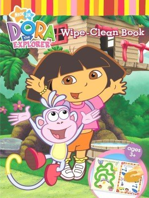 Dora the Explorer Wipe Clean Book