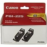 2pk Pgi-225 Blk Ink Cartridge Mg5220/Mg6120/Mg8120 Printer