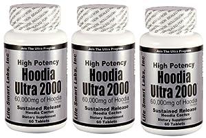 Hoodia Ultra 2000 Time Release High Potency 180 Pills 3 Months Hoodia Diet Pills from Hoodia Ultra 2000