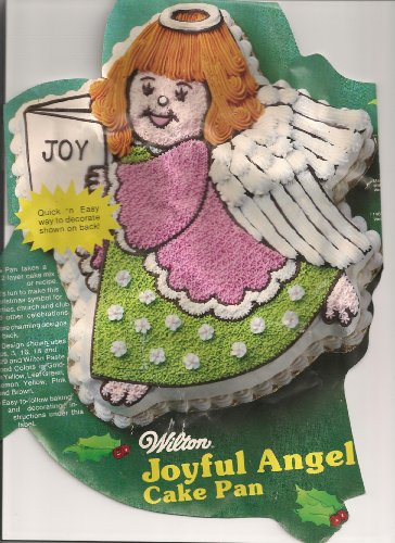 Wilton Cake Pan: Joyful Angel/Holiday or Christmas Angel (502-4246, 1983)