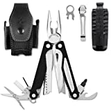 Leatherman Multitool Charge AL Aluminium-Griffe Leder-Holstervon &#34;Leatherman&#34;