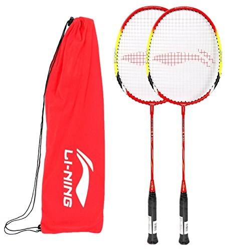 li-ning-q6-basic-q-series-badminton-racquet-white-green-with-grip-pack-of-2