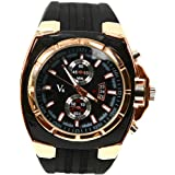 Men's Oversized Military Sports Quartz Watches Golden