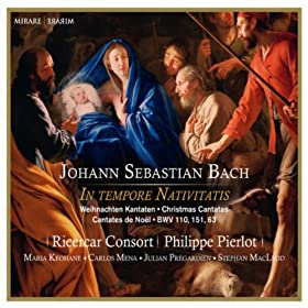 "Su?�er Trost, mein Jesus k�mmt, BWV 151: II. Recit Basso ""Erfreue dich, mein Herz"""