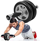 Jumbl Ab Wheel Roller Double Pro Abdominal Exercise Wheel