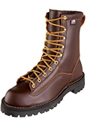 Danner Men's Rain Forest Brown Uninsulated Work Boot
