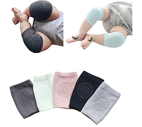 Buy Discount ZJY Summer knee environmental dispensing baby kneepads leg warmers 5 Pairs