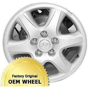 HYUNDAI TUCSON 16X6.5 6 SPOKE Factory Oem Wheel Rim- SILVER – Remanufactured