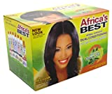 Africas Best Herbal Intensive Dual Conditioning No Lye Relaxer System with Olive Oil (Case of 6)