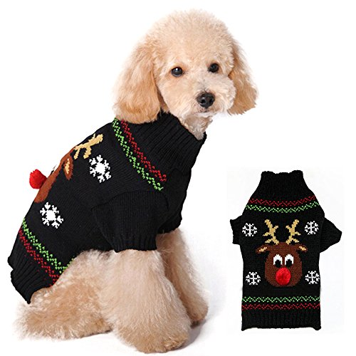 pet-hund-weihnachten-pullover-puppy-cat-winter-kleidung-rentier-jumper-coat-apparel