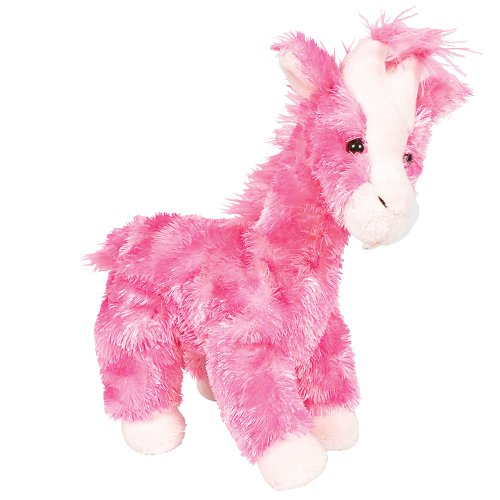 Pink Mini Stuffed Giraffe front-963363