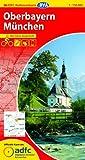ADFC-Radtourenkarte 26 Oberbayern München 1:150.000, reiß- und wetterfest, GPS-Tracks Download und Online-Begleitheft