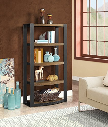 Whalen Furniture Santa Fe Audio Tower (Metal Shelving Wall Unit compare prices)