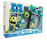 Monsters University 3 Piece Gift Set for Kids by Disney Pixar