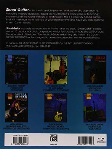 Shred Guitar: A Complete System for the Rock Improviser (Contemporary Guitar Series)
