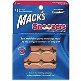 Macks Snoozers Silicone Putty Earplugs, 6-Pair