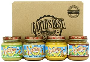 Earth's Best Dinner Variety Pack, 4-Ounce (Pack of 12)