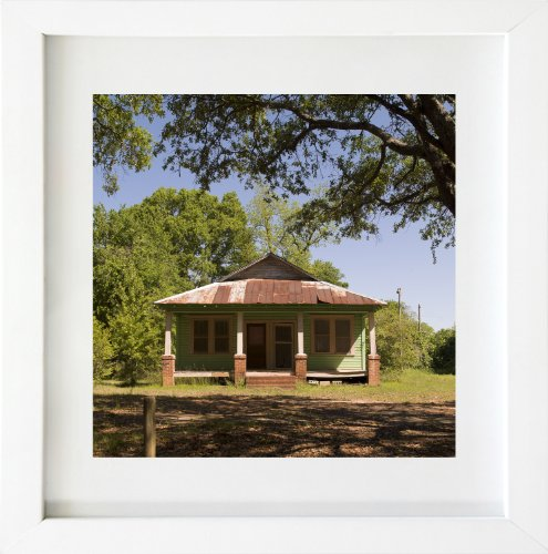 20 X 20 In. White Wood Allen Cooley Happy House