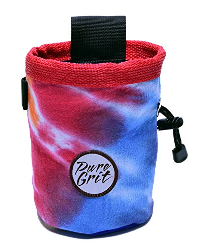 Pure Grit Grateful Dead Tie-dye Chalk Bag (Made