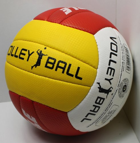 Beach Volleyball official Size 5, Beach Strand Volley Spiel Ball Größe 5 TRICOLOR sehr griffig