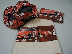 Tony Stewart #20 Fabric Shoe Cover Rosin Bag Towel Set by NASCAR
