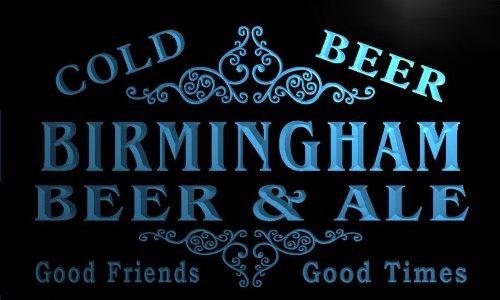 Qs2147-B Birmingham Beer & Ale Vintage Design Bar Decor Neon Light Sign