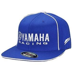 Factory Effex 'Yamaha Racing' Flex-Fit Hat (Blue, Small/Medium)