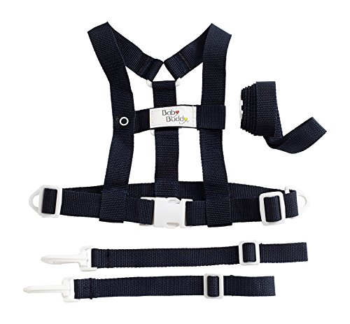 Baby Buddy Baby Buddy Deluxe Security Harness, Navy