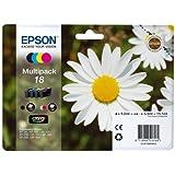 Epson 18 Multipack - 4-pack - black, yellow, cyan, magenta - original - ink cartridge