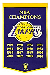 Los Angeles Lakers 2010 NBA Champions Dynasty Banner