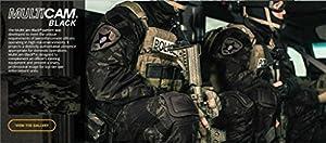Homme Tenues de Combat Chasse Unifome Militaire Gen2 tactique Uniforme MultiCam Black