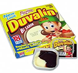 Duvalin Hazelnut & Vanilla Mexican Sweet Candy 18 Pcs 9.52oz