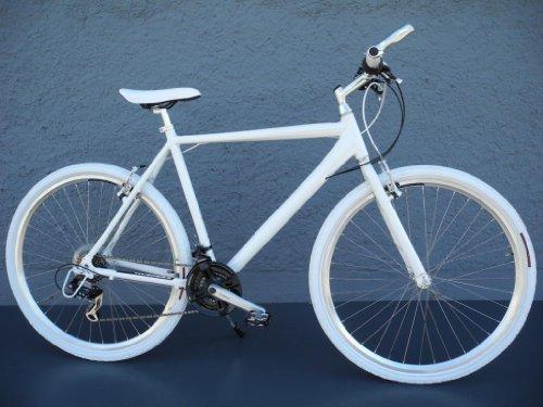 28-Alu-Speed-Bike-Fitnessbike-SHIMANO-21-Gang-CROSS-Fahrrad-weiss