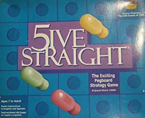 Stillmore 5ive Straight The Pegboard Strategy Game