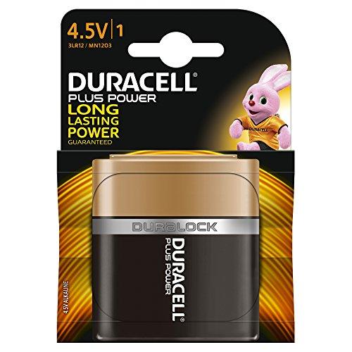 Duracell - 75051889 - Pile Alcaline - 4,5V x 1 - Plus
