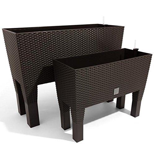 terra blumenkasten rato hoch mit bew sserungseinsatz. Black Bedroom Furniture Sets. Home Design Ideas