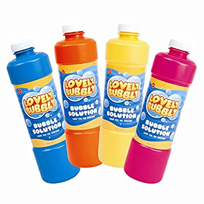 945ml Giant Bubbles Solution Bottle Top up for any Bubble machine or Toys - Child safe Ideal for Sensory Rooms CE CERTIFIED! 100% SAFE FOR CHILDREN