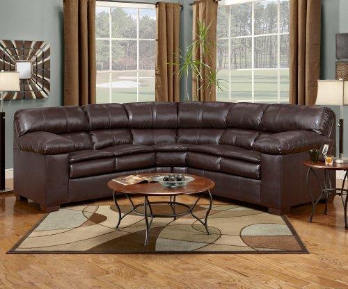 Sofa Best Deals Simmons 8054 Sectional Ottoman Brown