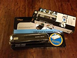 Vupoint Solutions PDSWF-ST44-VP Magic Wand Portable Scanner with Wi-Fi® ***Promotional Kit*** with 8GB microSDHC Card, & Hard Shell Case (Black)