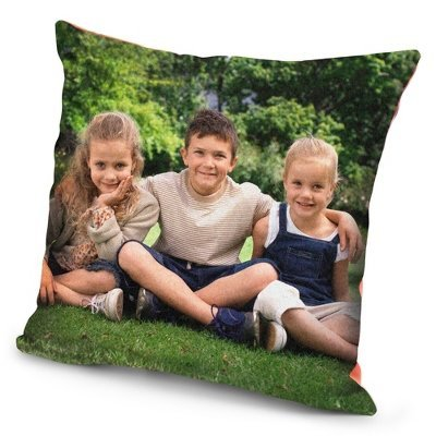 Personalized Personal Photo Blanket Pillow front-333618