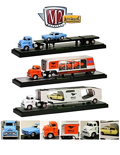 Auto Haulers Release 12, 6 Pieces Set 1/64 By M2 Machines 36000-12