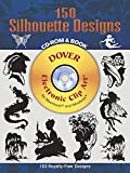 150 Silhouette Designs CD-ROM and Book