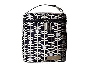 Ju-Ju-Be Classic Collection Fuel Cell Insulated Bottle and Lunch Bag, Dandy Lines from Ju Ju Be
