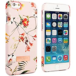 "Ted Baker London 4.7"" iPhone 6 Ted Baker Women's AW14 Collection 2014 official Ted AW14 prints for women and plaque case cover for iphone 6 4.7"" fashion brand case cover latest iphone 6 2014 (4.7 inch) - SIMETO Botanical Bloom branded case cover for lates"