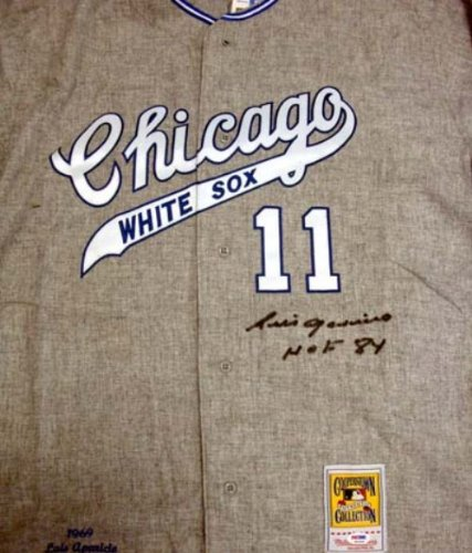 Chicago White Sox Signed Chicago White Sox M&N Throwback Jersey - HOF 1984 - PSA DNA Amazon.com