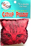 Organic Catnip Pillow Toy / Packaged, by the maker of Da Bird