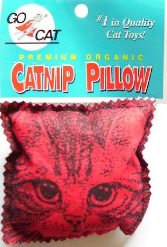 Organic Catnip Pillow Toy, by Go Cat, the maker of Da Bird